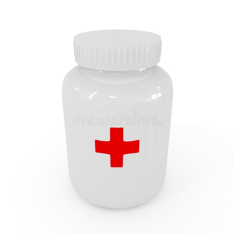 Download Medicine bottle stock illustration. Image of healthcare - 11647227