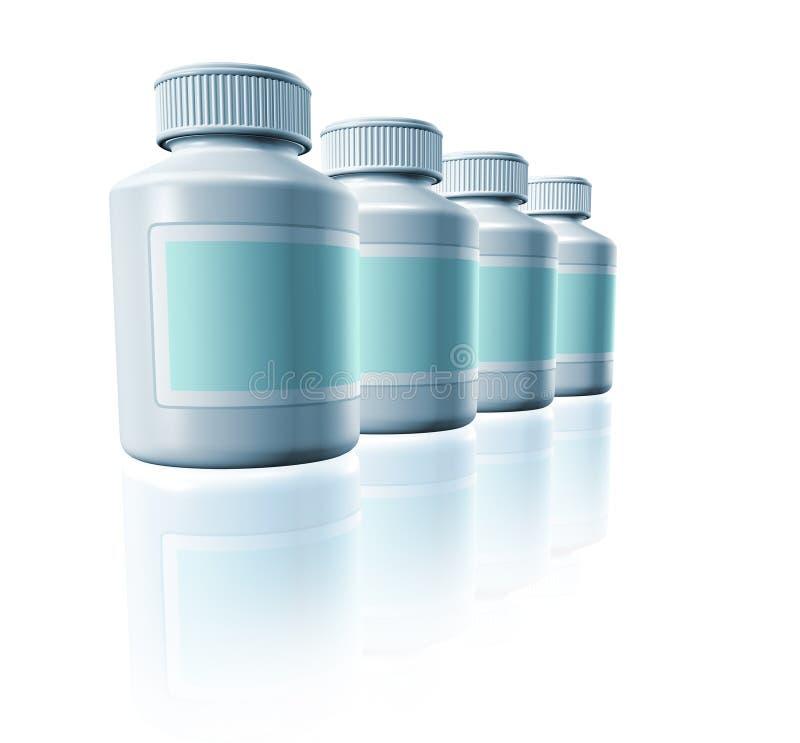 Download Medicine bottles stock illustration. Image of pharmacy - 15966308