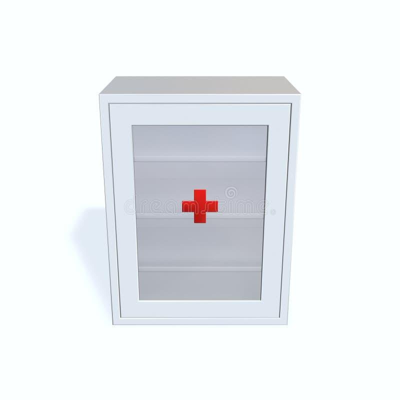 Download Medicine Cabinet stock illustration. Illustration of curative - 14263482