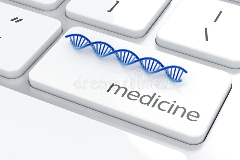 Medicine concept stock illustration