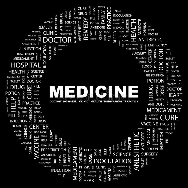 Download MEDICINE stock vector. Illustration of representation - 35167230