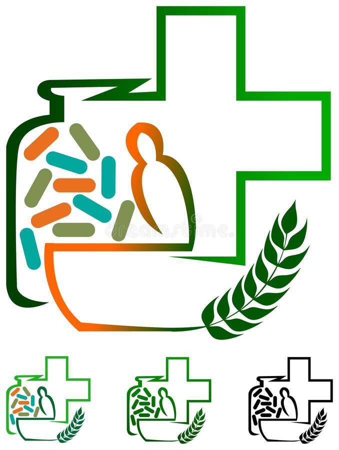 Medicine di erbe royalty illustrazione gratis