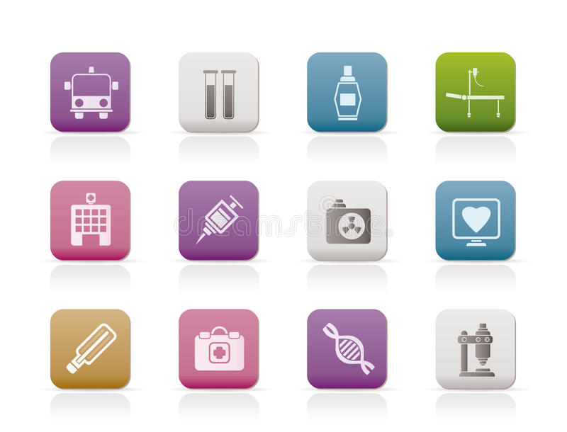 Download Medicine And Healthcare Icons Stock Vector - Image: 14609454