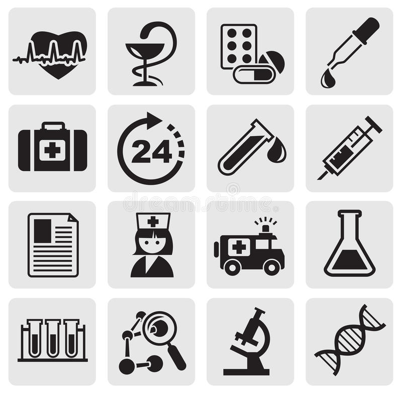 Download Medicine & Heath Care Icons Stock Vector - Illustration: 25541585