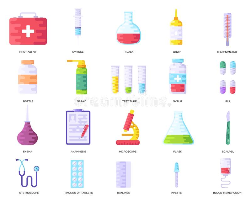 Medicine information background. Medical clinical infographic concept set. Layout illustrations modern pages. Medicine information background. Medical clinical royalty free illustration