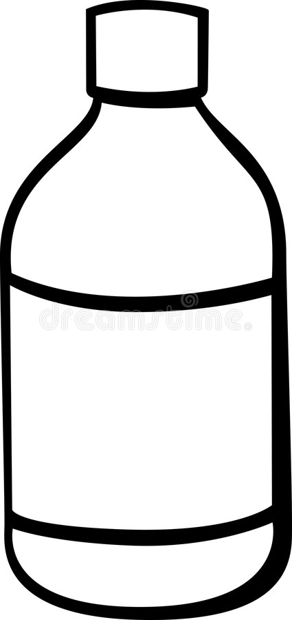 Medicine Jar Vector Illustration Stock Photos