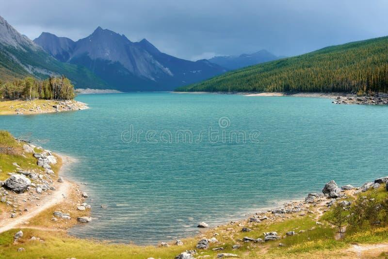 Medicine lake stock photography