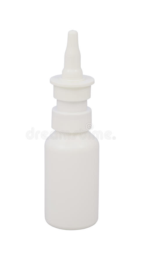 Medicine Nasal Spray Royalty Free Stock Photos