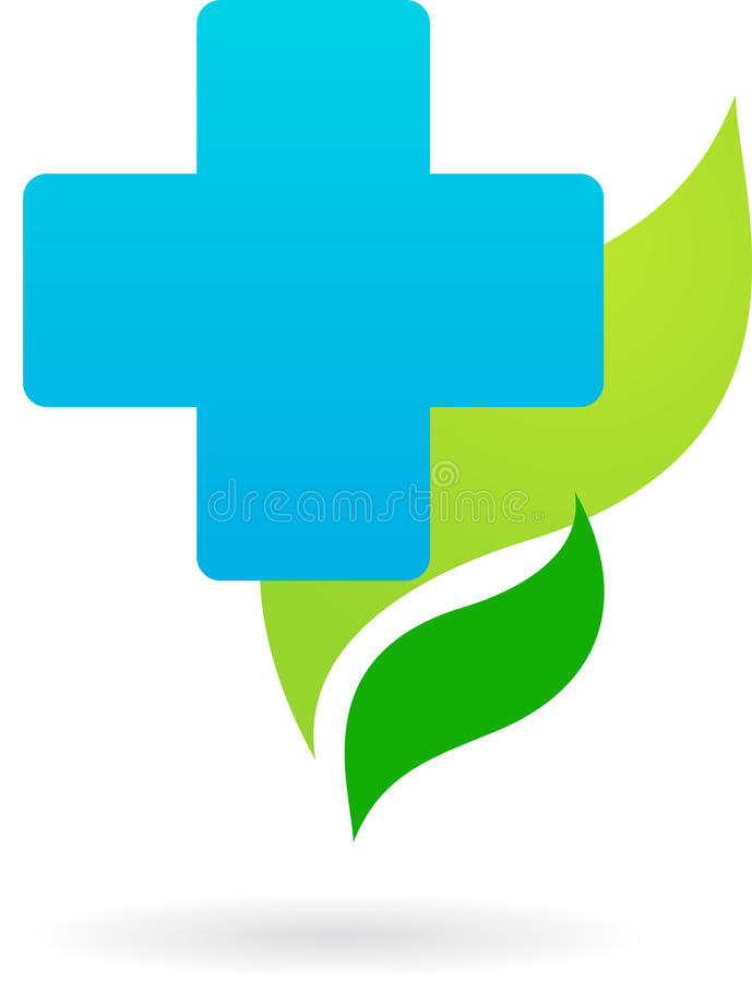 Download Medicine And Nature Icon / Logo Stock Photo - Image: 12896268