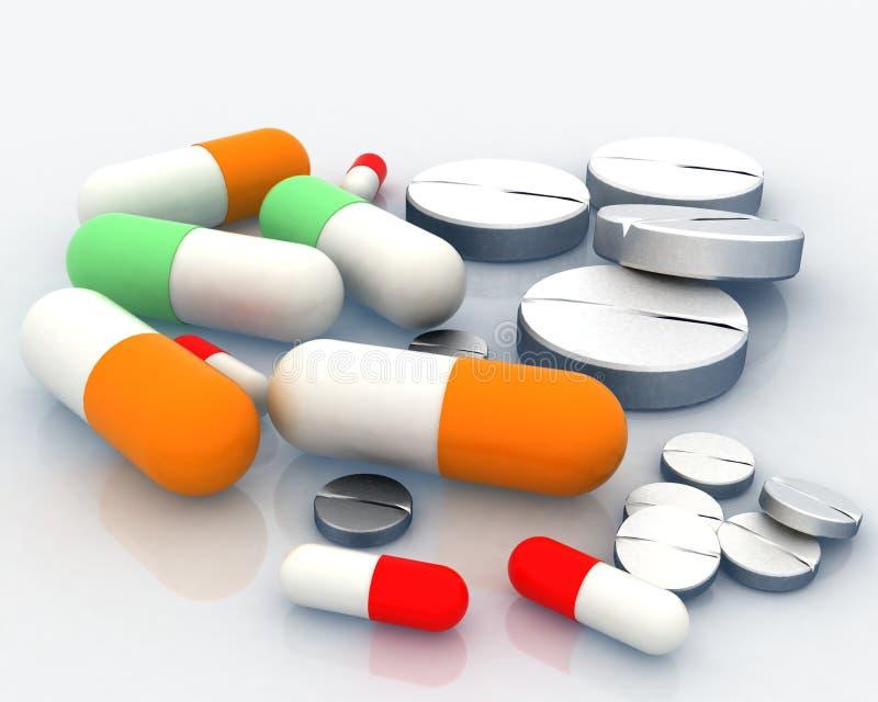 Download Medicine pill stock illustration. Illustration of healthcare - 21708086