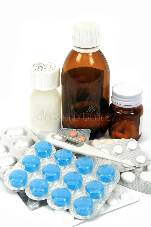 Medicine pills stock images