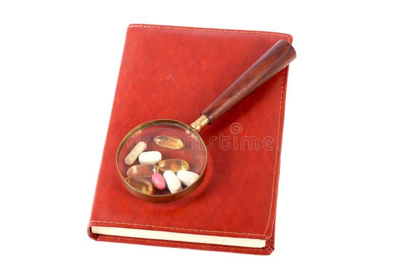 Medicine study royalty free stock image