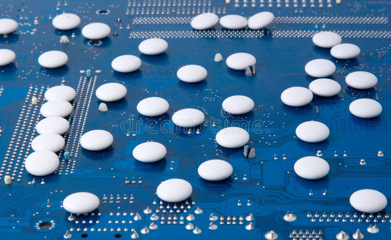 Medicine Technology Research Stock Image