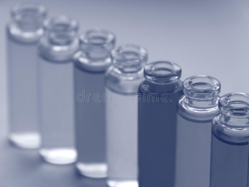 Medicine. Test tube series royalty free stock photos