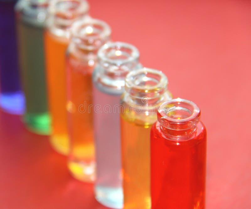 Medicine. Test tube series stock photography