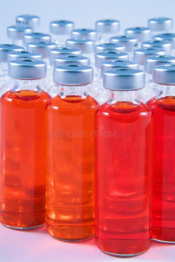Medicine Vials Stock Photo