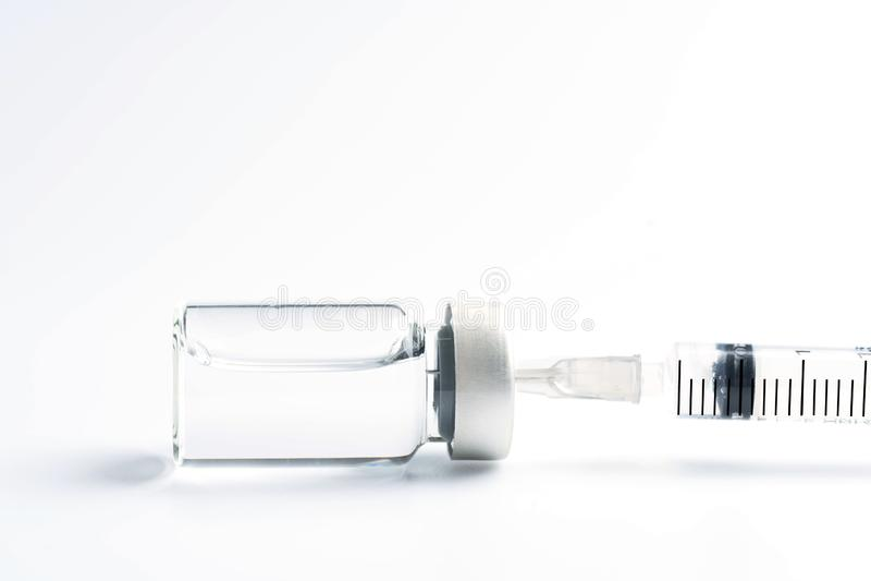 medicinflaska f?r medicinska glass sm? medicinflaskor f?r injektion royaltyfri fotografi