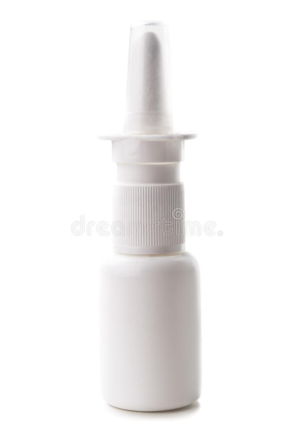 Medicinnasalljudspray Royaltyfria Bilder