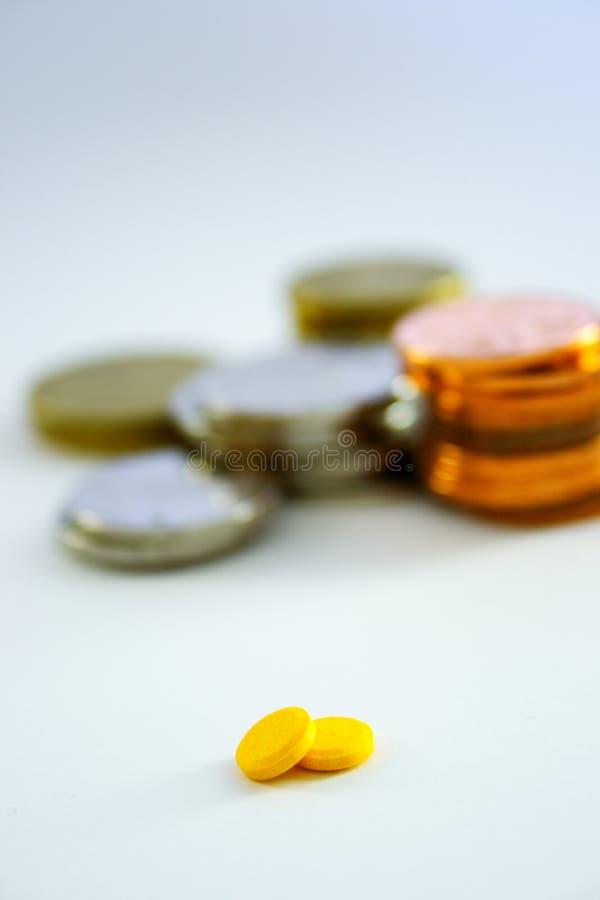 medicinpengar arkivfoton