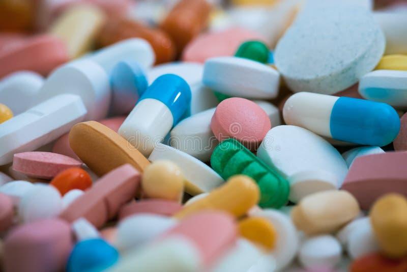 medicinpills arkivfoton