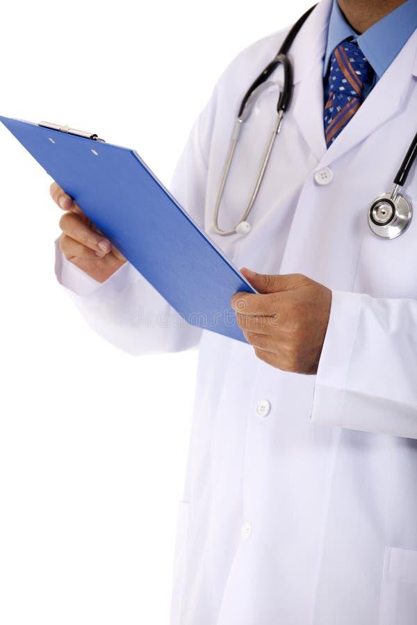 medicinsk avläsningsrapport för doktor royaltyfri foto