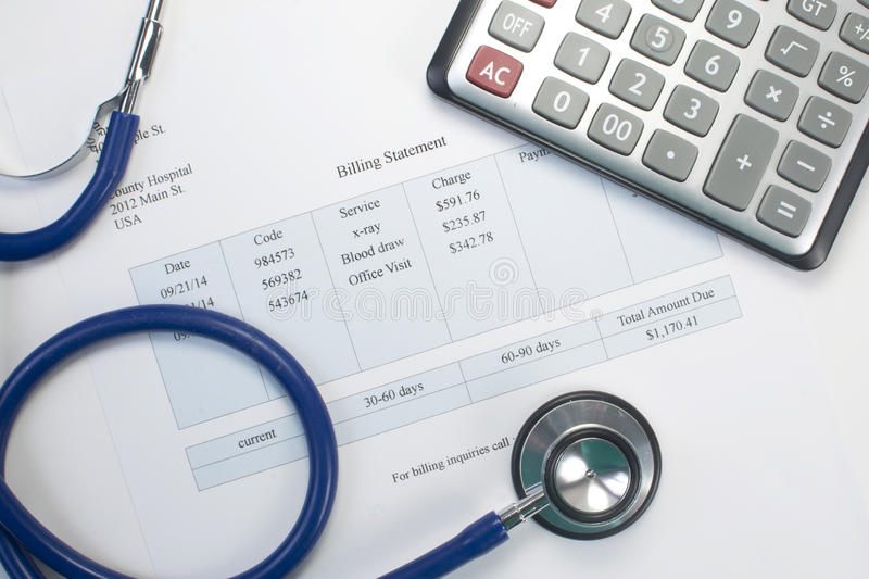 Medicinsk bill royaltyfri bild