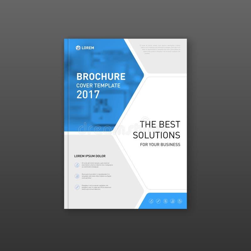 Medicinsk broschyrräkningsmall, reklambladdesignorientering vektor illustrationer