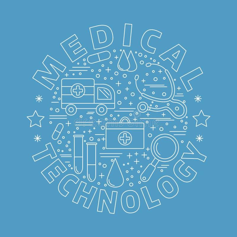 Download Medicinsk Diagnostik, Begrepp För Grafisk Design För Undersökning Vektor Illustrationer - Illustration av klinik, symbol: 76700878