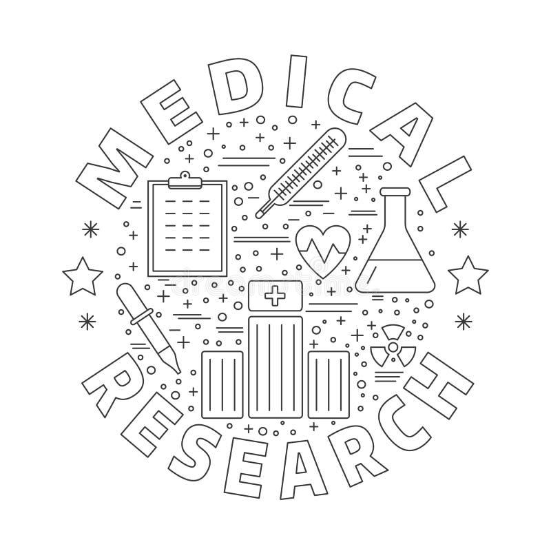 Download Medicinsk Diagnostik, Begrepp För Grafisk Design För Undersökning Vektor Illustrationer - Illustration av utvärdering, graf: 76701123