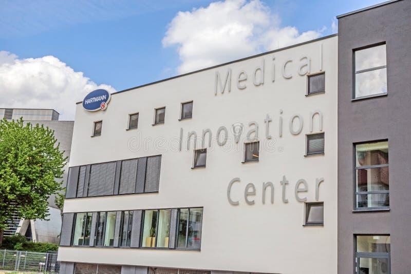 Medicinsk innovationmitt av Hartmann AG, Heidenheim, Tyskland arkivfoto
