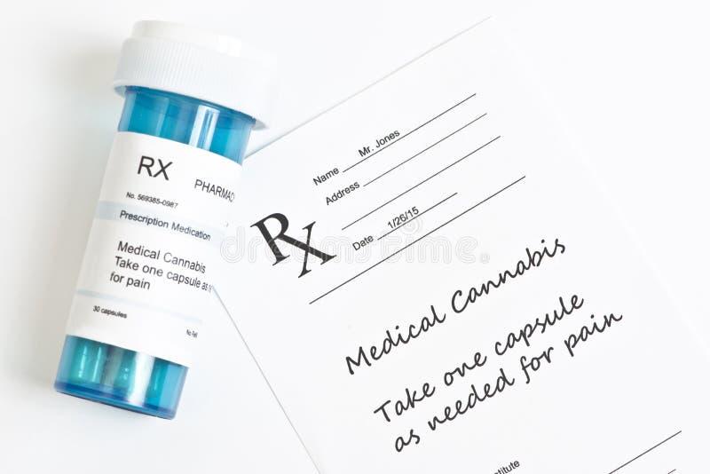 Medicinsk marijuana royaltyfria bilder