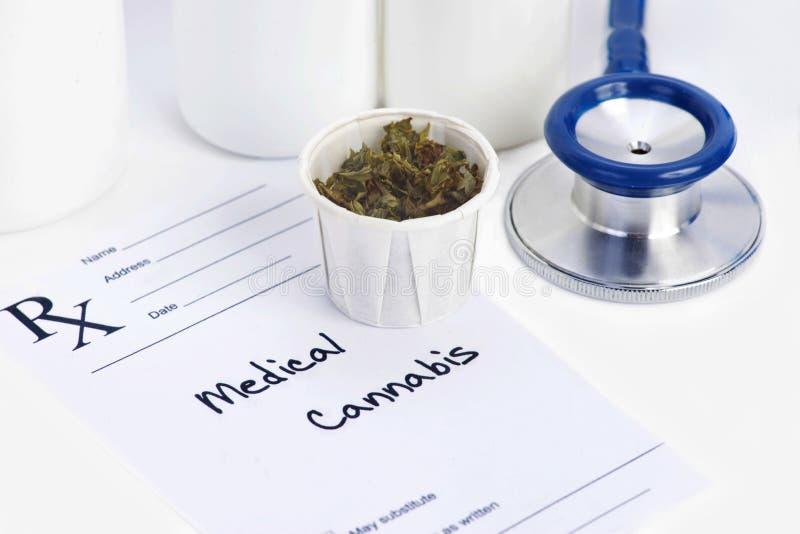 Medicinsk marijuana royaltyfri fotografi