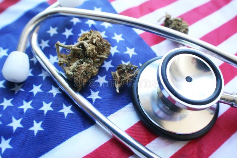 Medicinsk marijuana i Amerika arkivfoton