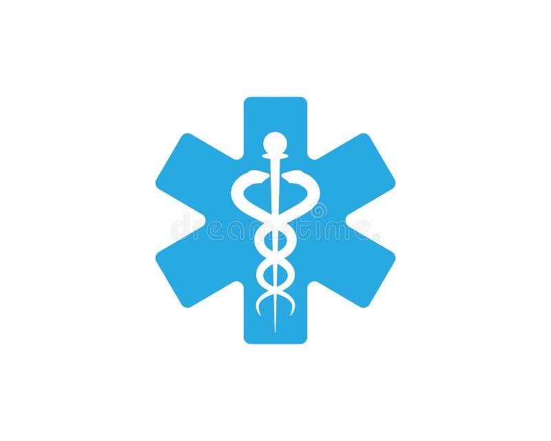 medicinsk ormvektorillustration stock illustrationer