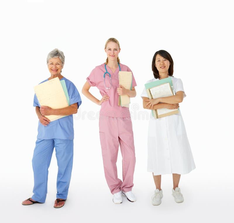 Medicinsk personal arkivfoto