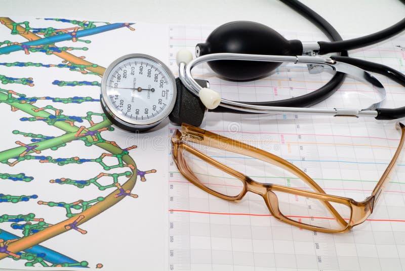 medicinsk rapport arkivbilder