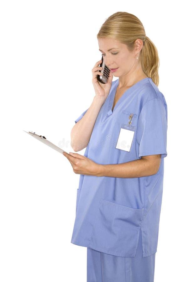 medicinsk sjuksköterska royaltyfri fotografi