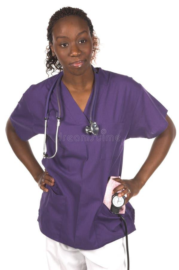 medicinsk sjuksköterska arkivbild