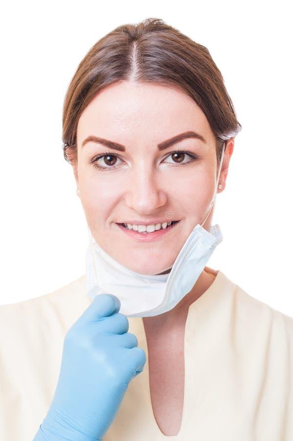 Medicinsk sjuksköterska- eller tandläkareassistent royaltyfria foton