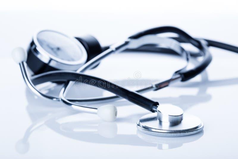 Medicinsk stetoskop. arkivfoton