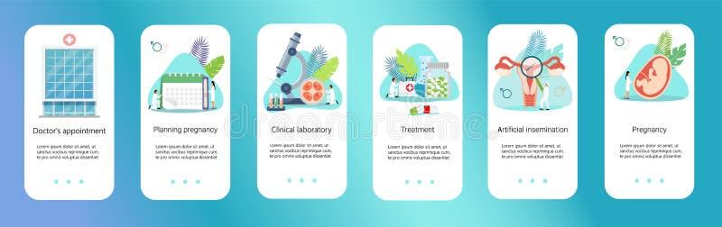 Medicinsk teknologi för genetisk vetenskap för sjukvård stock illustrationer
