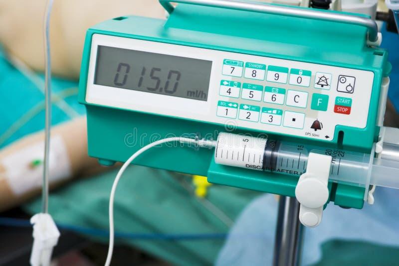 medicinsk transfusion royaltyfri bild