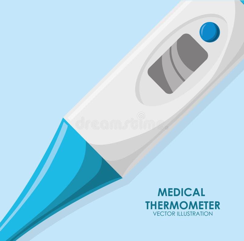 Medicinsk vård stock illustrationer
