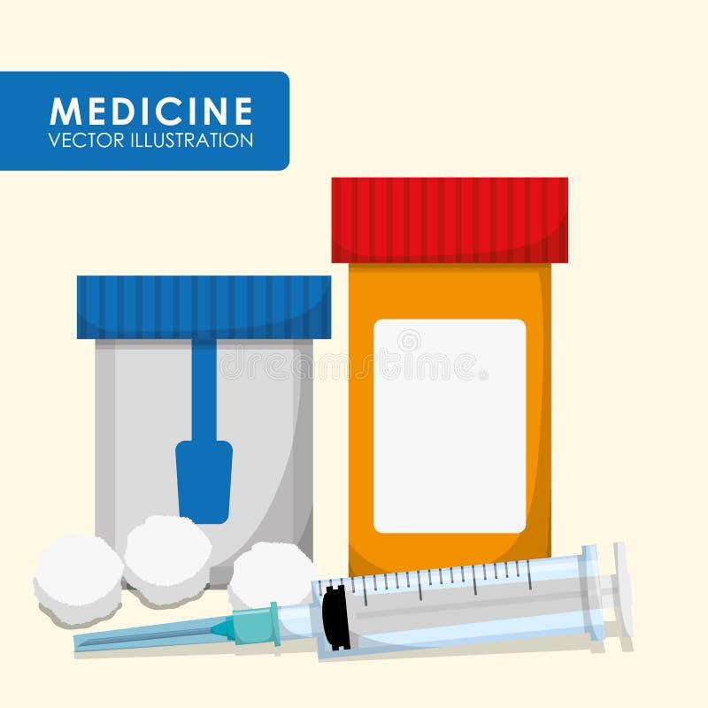 Medicinsk vård vektor illustrationer