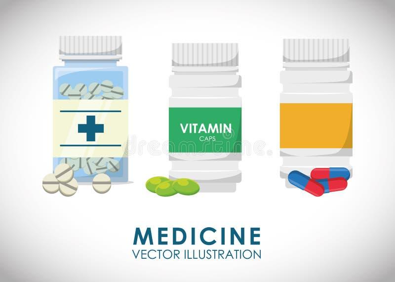 Medicinsk vård royaltyfri illustrationer