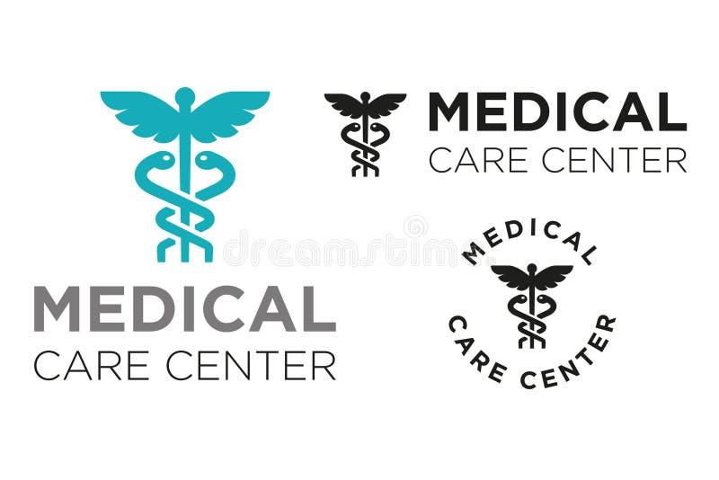Medicinsk vårdmitt stock illustrationer