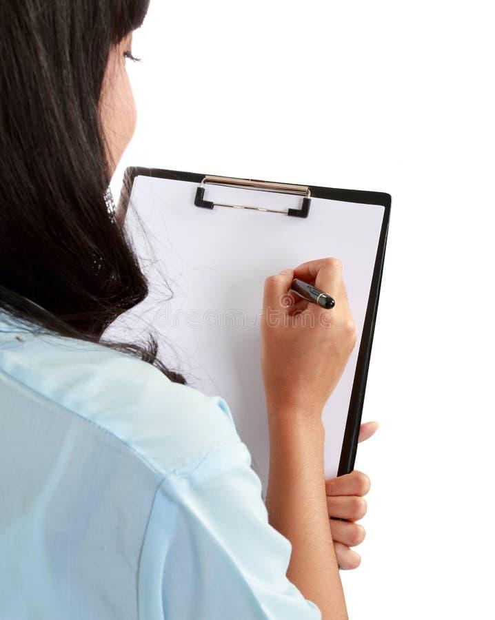 medicinsk writing för doktor fotografering för bildbyråer