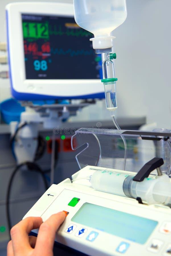 Medicinska apparater royaltyfria foton