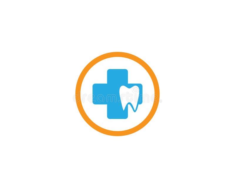 Medicinska Logo Template stock illustrationer
