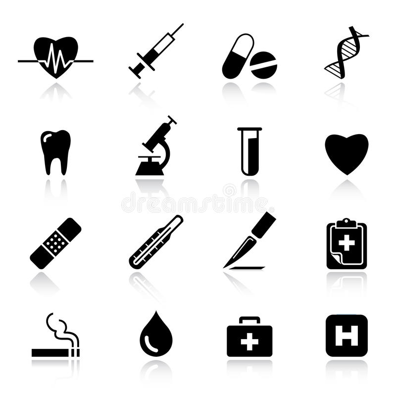 medicinska normala symboler